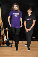 Lauren Lovejoy, records Give Us A Break, for an Anti-Bullying campaign, with the Autism Charity, Anna Kennedy On-Line. This is part of Anti Bullying Week, which begins next week.