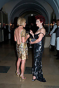 CAROLINE STANBURY; CLEO ROCOS, Chaos Point: Vivienne Westwood Gold Label Collection performance art catwalk show and auction in aid of the NSPCC. Banqueting House. London. 18 November 2008<br /> *** Local Caption *** -DO NOT ARCHIVE -Copyright Photograph by Dafydd Jones. 248 Clapham Rd. London SW9 0PZ. Tel 0207 820 0771. www.dafjones.com
