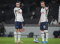 Football - 2020 / 2021 Premier League - Tottenham Hotspur vs Crystal Palace - Tottenham Hotspur Stadium<br /> <br /> Harry Kane and Gareth Bale of Tottenham<br /> <br /> Credit : COLORSPORT/ANDREW COWIE