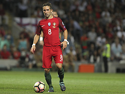 August 31, 2017 - Porto, Porto, Portugal - Portugal's midfielder Joao Moutinho during the FIFA World Cup Russia 2018 qualifier match between Portugal and Faroe Islands at Bessa Sec XXI Stadium on August 31, 2017 in Porto, Portugal. (Credit Image: © Dpi/NurPhoto via ZUMA Press)