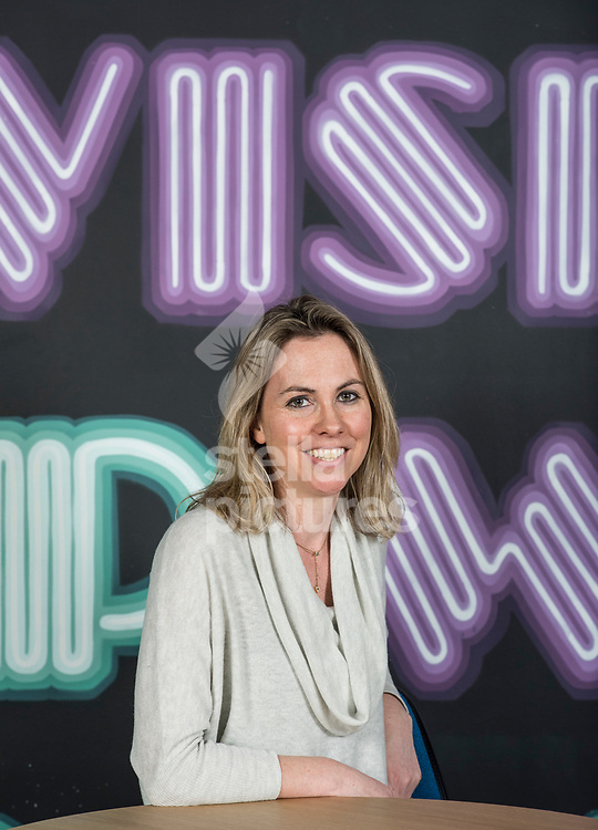 Tessa Cook, founder of 'OLIO' a food sharing app, pictured during a Facebook Incubator event at the social media giants London offices.<br /> Picture by Daniel Hambury/@stellapicsltd 07813022858<br /> 19/02/2018