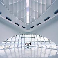 Milwaukee Art Museum by Eero Saarinen, David Kahler, and Santiago Calatrava.