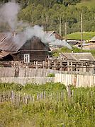 Rural village, near Ekaterinburg, Russia