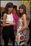 SOPHIE HUNTER; ELOISE FORNIELES , The Launch of OSMAN the Collective No.3, hosted by Valeria Napoleone, Kensington. 15 May 2014.