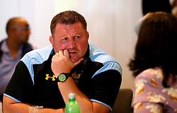 Wasps Director of Rugby Dai Young is interviewed at the Aviva Premiership Rugby 2017/18 season launch - Mandatory by-line: Robbie Stephenson/JMP - 24/08/2017 - RUGBY - Twickenham - London, England - Premiership Rugby Launch