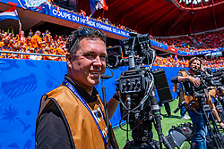 15-06-2019 FRA: Netherlands - Cameroon, Valenciennes<br /> FIFA Women's World Cup France group E match between Netherlands and Cameroon at Stade du Hainaut / Media, Camera, Peter