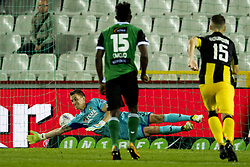 September 2, 2017 - Brugge, BELGIUM - Lierse's Nathan Goris fails to stop a penalty during a soccer game between Cercle Brugge KSV and Lierse SK in Brugge, Saturday 02 September 2017, on day four of the division 1B Proximus League competition of the Belgian championship. BELGA PHOTO JASPER JACOBS (Credit Image: © Jasper Jacobs/Belga via ZUMA Press)
