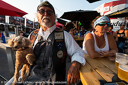 Main Street during the 78th annual Sturgis Motorcycle Rally. Sturgis, SD. USA. Saturday August 4, 2018. Photography ©2018 Michael Lichter.