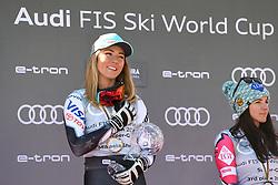 March 14, 2019 - ANDORRA - Mikaela Shiffrin (USA) in Podium Ladies Super Giant of Audi FIS Ski World Cup 18/19, in Grandvalira Soldeu/El Tarter, Andorra. (Credit Image: © AFP7 via ZUMA Wire)