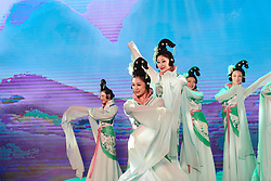 Dancers perform at The UCI Cycling Gala 2018 in Guilin, China on October 21, 2018. Photo by Sean Robinson/velofocus.com