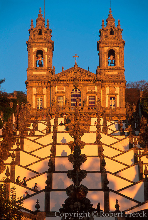 PORTUGAL, NORTH, MINHO Bom Jesus Do Monte near Braga
