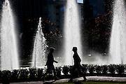 Belo Horizonte_MG, Brasil...Fonte na Praca da Liberdade em Belo Horizonte...The fountain in Liberdade square in Belo Horizonte...Foto: BRUNO MAGALHAES / NITRO