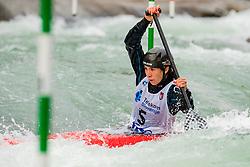 Alsu MINAZOVA (RUS) during Canoe Semi Finals at World Cup Tacen, 18 October 2020, Tacen, Ljubljana Slovenia. Photo by Grega Valancic / Sportida