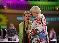 DEU, Deutschland, Germany, Berlin, 16.06.2017: Sylvia Löhrmann und Claudia Roth beim Bundesparteitag von Bündnis90/Die Grünen im Velodrom.