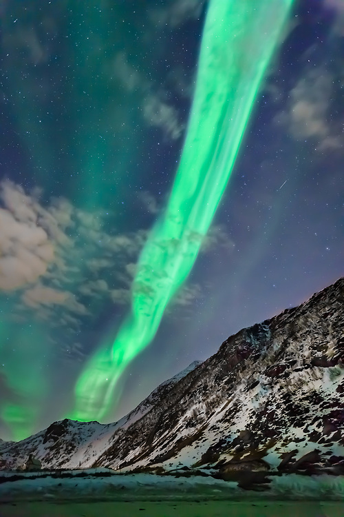 Flashback to a cold magical night. Once experienced, the beauty of a dancing aurora never really leaves your soul.