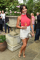 Lizzie Cundy at the opening of The Ivy Cobham Brasserie, Cobham, Surrey, England. 31 May 2017.