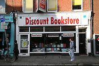 Discount bookstore on Baggot Street Dublin Ireland