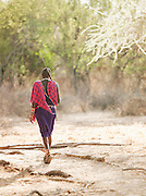 Maasai tribesman, near Amboseli National Park, Rift Valley Province, Kenya