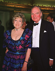 SIR DALLAS & LADY BERNARD at a ball in London on 9th June 1999. MTA 6