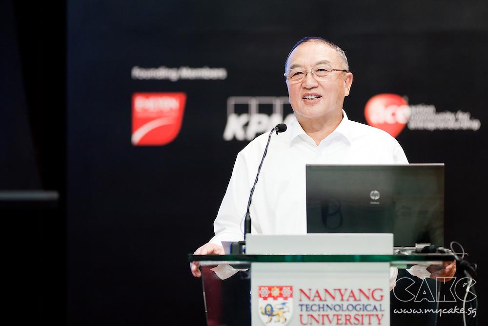 World Entrepreneurship Forum 2011 - Mr Liu Chairman of Lenovo