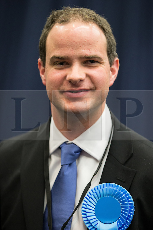 © Licensed to London News Pictures . 14/02/2014 . Manchester , UK . Conservative Party candidate REVEREND DANIEL CRITCHLOW . The count for the Wythenshawe and Sale East by-election , at Manchester Central this evening . Photo credit : Joel Goodman/LNP