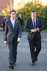 OCT 30 2012 Ed Milliband in Corby