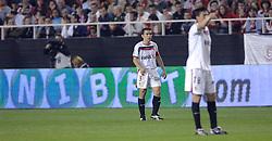 03-03-2007 VOETBAL: SEVILLA FC - BARCELONA: SEVILLA  <br /> Sevilla wint de topper met Barcelona met 2-1 / David Castedo Escudero - boarding unibet.com<br /> ©2006-WWW.FOTOHOOGENDOORN.NL