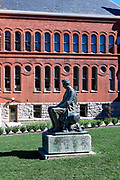 Young Lincoln sculpture on the campus of Syracuse University, Syracuse, New York, USA