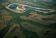 Aerial View, Pantanal, Mato Grosso do Sul, Brazil