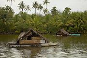 Fish traps, Huahine, French Polynesia