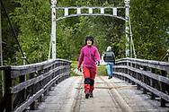 VILDMARKSVÄGEN JULI 2020<br /> Vandring över broarna vid Ankarede under helgens tur efter Vildmarksvägen.<br /> Foto: Per Danielsson/Projekt.P