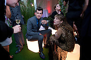 Mark Ronson; Josephine de la Baume, Glamour magazine Women of the Year Awards. Berkeley Square. London. 2 June 2009