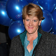 Clare Balding attend the Company - Opening Night at Gielgud Theatre, London, UK. 17 October 2018.