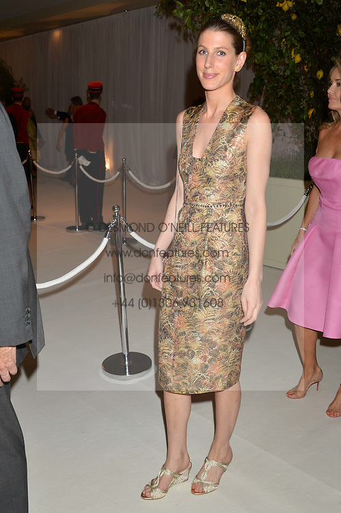 SUSANNA WARREN at a dinner hosted by Cartier in celebration of The Chelsea Flower Show held at The Hurlingham Club, London on 19th May 2014.
