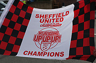 Sheffield United memorabilia on sale during the English League One match at Bramall Lane Stadium, Sheffield. Picture date: April 30th, 2017. Pic credit should read: Jamie Tyerman/Sportimage