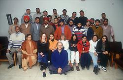 Youth exchange group at the University of Patiala; Punjab; India,