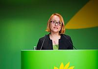 DEU, Deutschland, Germany, Berlin, 23.11.2018: Małgorzata Tracz, Co-Chair of Partia Zieloni (Poland). Council of the European Green Party (EGP council) at Deutsche Telekom Representative Office.
