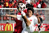 Fotball <br /> FIFA World Youth Championships 2005<br /> Nederland / Holland<br /> 11.06.2005<br /> Foto: ProShots/Digitalsport<br /> <br /> Tyrkia v Kina 1-2<br /> Utrecht<br /> <br /> omhaal ming zhao (2)