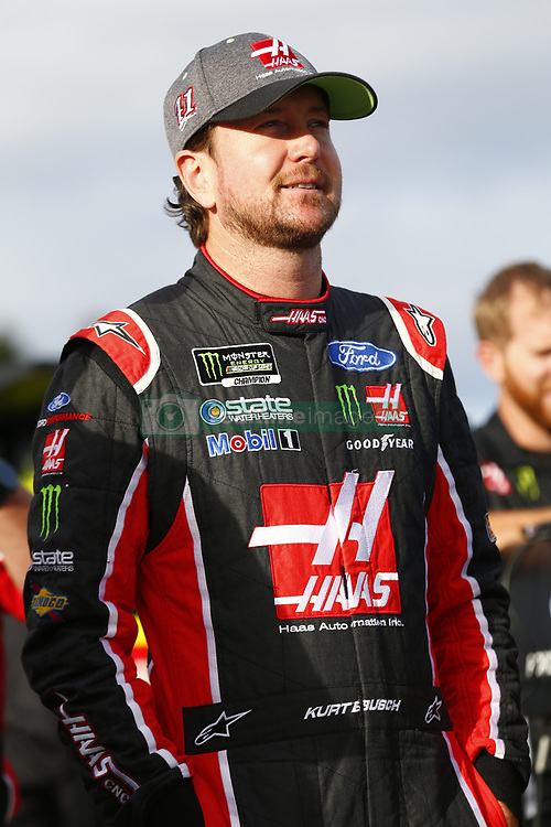 September 22, 2017 - Loudon, New Hampshire, United States of America - September 22, 2017 - Loudon, New Hampshire, USA: Kurt Busch (41) hangs out on pit road prior to qualifying for the ISM Connect 300 at New Hampshire Motor Speedway in Loudon, New Hampshire. (Credit Image: © Justin R. Noe Asp Inc/ASP via ZUMA Wire)