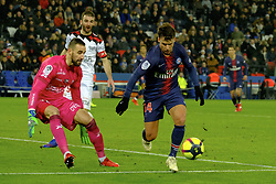 January 19, 2019 - Paris, Ile de France, France - Paris SG Midfield JUAN BERNAT in action during the French championship League 1 Conforama match Paris SG against EA Guingamp at the Parc des Princes Stadium in Paris - France..Paris SG won 9-0 (Credit Image: © Pierre Stevenin/ZUMA Wire)