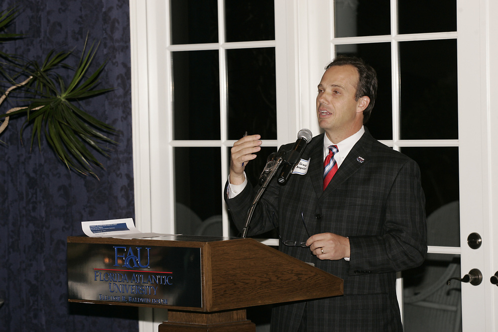 2006 FAU Sports Hall of Fame Induction, October 27, 2006.
