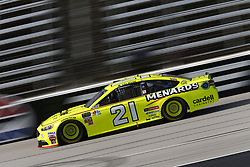 November 2, 2018 - Ft. Worth, Texas, United States of America - Paul Menard (21) takes to the track to practice for the AAA Texas 500 at Texas Motor Speedway in Ft. Worth, Texas. (Credit Image: © Justin R. Noe Asp Inc/ASP via ZUMA Wire)