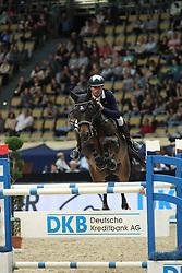 Bruggink Gert Jan, (NED), Mcb Ulke<br /> DKB-Riders Tour<br /> Grand Prix Kreditbank Jumping München 2015<br /> © Hippo Foto - Stefan Lafrentz