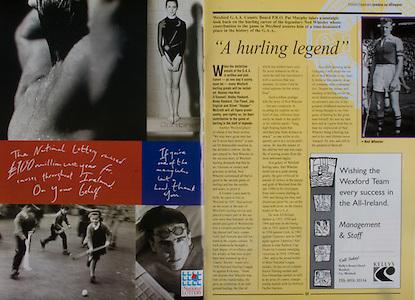 All Ireland Senior Hurling Championship - Final,.01.09.1996, 09.01.1996, 1st September 1996,.01091996AISHCF, .Wexford v Limerick,.Wexford 1-13, Limerick 0-14,.National Lottery, .Ned Wheeler, A Hurling Legend,.