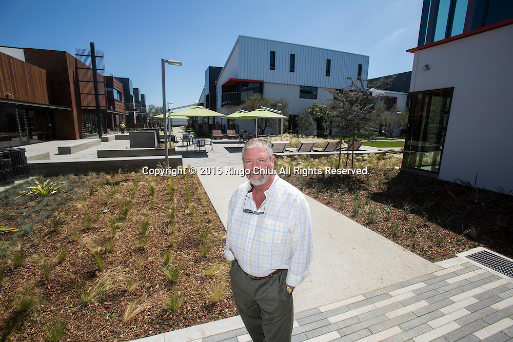 Alex J. Rose Senior Vice President, Development Continental Development Corporation, which is developing the ELEVON campus in El Segundo.<br /> Photo by Ringo Chiu/PHOTOFORMULA.com)