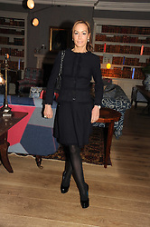 TARA PALMER-TOMPKINSON at the Andrew Martin 2008 International Interior Designer of the Year Award held at The Haymarket Hotel, 1 Suffolk Place, London SW1 on 22nd September 2008.