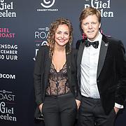 NLD/Amsterdam/20171207 - inloop The Roast of Giel Beelen, Susan Oostdam en partner Lex Uiting
