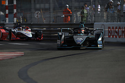 May 11, 2019 - Monaco, Monaco - 5 Belgian friver Stoffel Vandoorne of HWA AG Racing drive her single-seater during the 3rd edition of Monaco E-Prix, in port neighborhood in Monaco, France  (Credit Image: © Andrea Diodato/NurPhoto via ZUMA Press)