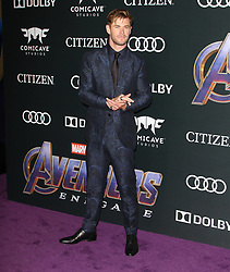 """""""Avengers Endgame"""" Premiere at Los Angeles Convention Center in Los Angeles, California on 4/22/19. 22 Apr 2019 Pictured: Chris Hemsworth. Photo credit: River / MEGA TheMegaAgency.com +1 888 505 6342"""