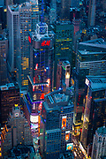 4 Times Square, formerly known as the Condé Nast Building, is a skyscraper in Times Square in Midtown Manhattan, New York City. Located on Broadway between West 42nd and 43rd Streets, the structure was finished in January 2000 as part of a larger project to redevelop 42nd Street. The architects were Fox & Fowle, who also designed the Reuters Building as part of the larger project. The 809-foot, 48-story building is the 12th tallest building in New York City and the 41st tallest in the United States. Owned by the Durst Organization, the building contains 1,600,000 square feet of floor space. The major office space tenants are Skadden, Arps, Slate, Meagher & Flom, a prominent U.S. law firm. Duane Reade is a major retail tenant. H&M has leased the space formerly occupied by ESPNZone; in August 2013, the retailer announced that it would be installing four illuminated panels bearing the company logo atop the tower.